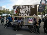 filter the coffee not the people