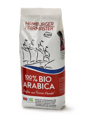 Hamburger Fairmaster fairtrade Bio Kaffee